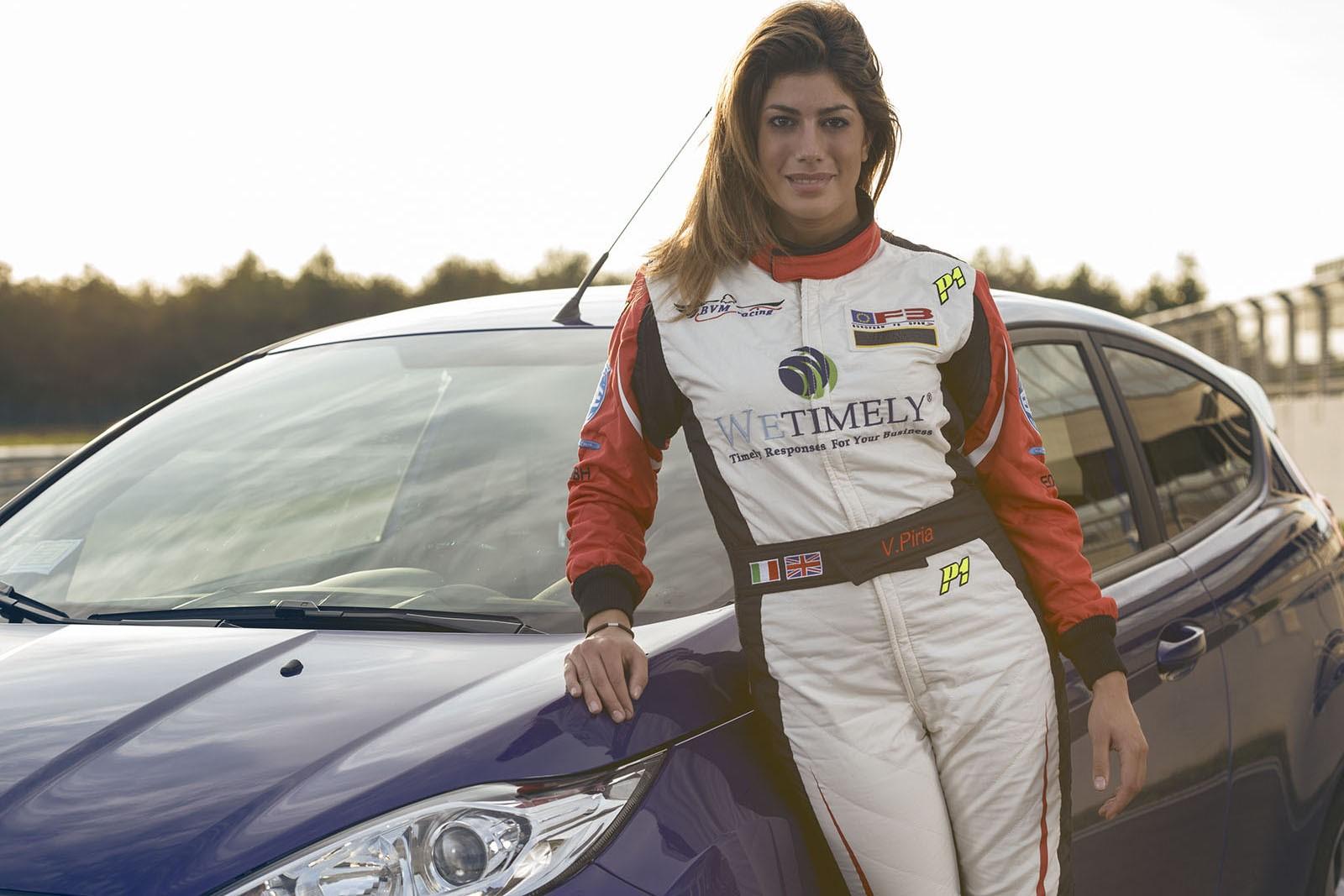 Vicky Piria ford fiesta st modena autodromo