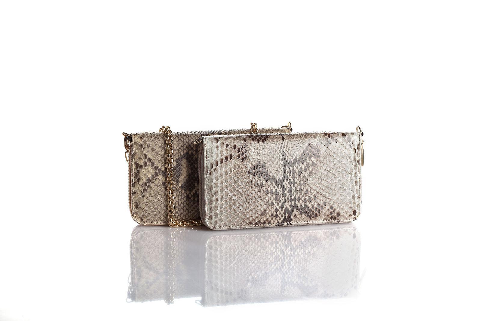borsetta handbag sand cocodrille