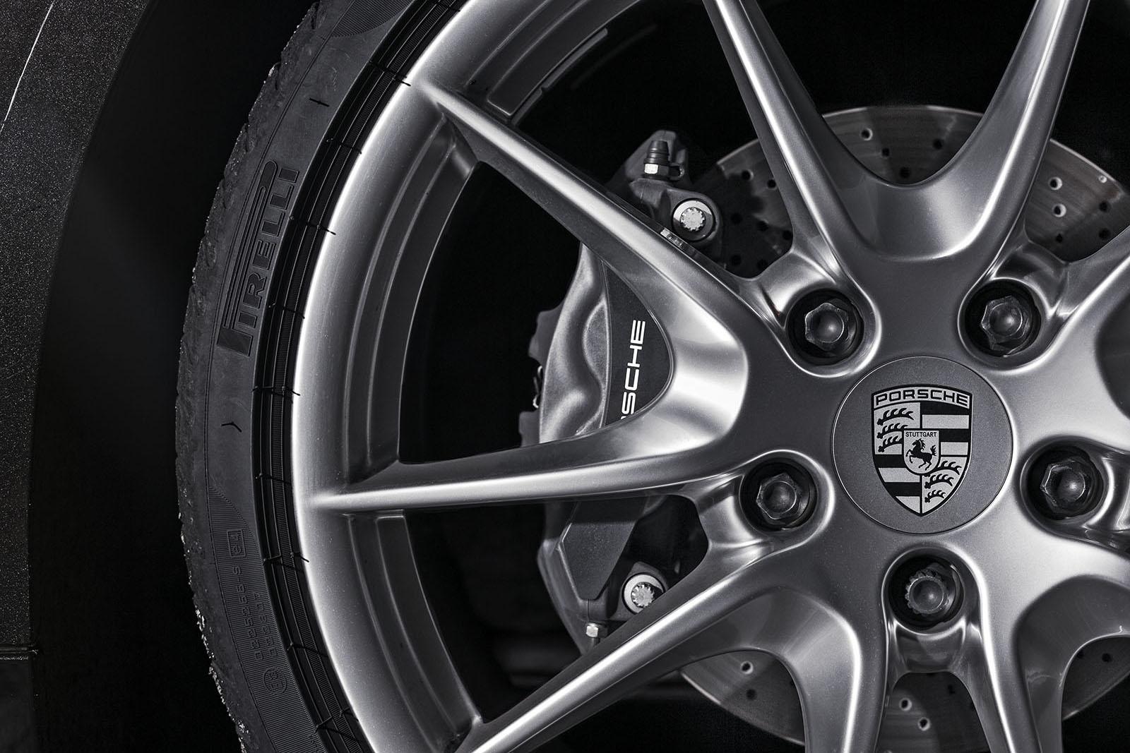 tyre porsche boxster brake details pirelli